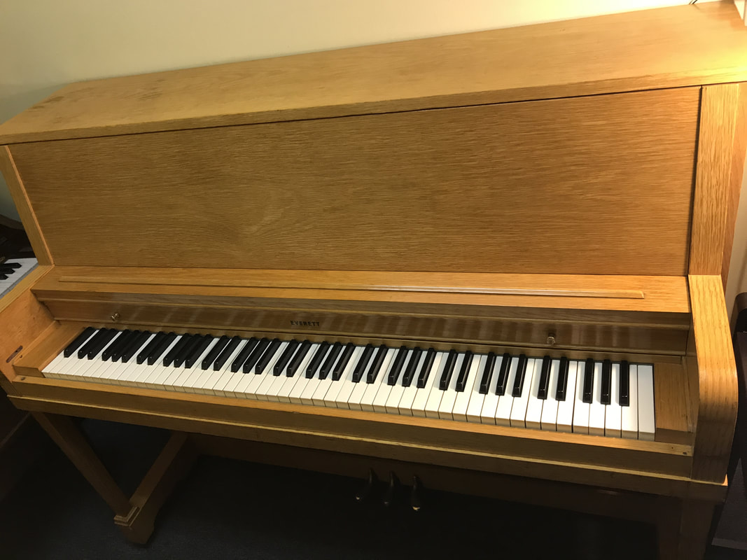 Everett Studio Upright 499 Duluth Fine Pianos Llc